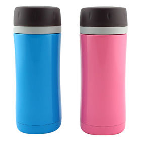 350mL Stainless Steel Vacuum Flasks with Strainer in Mouth