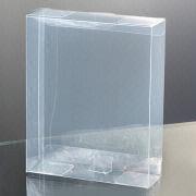 Clear folding box from Hong Kong SAR