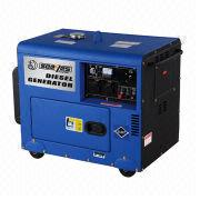 China 6kW EPA and CE approved diesel generator with silent