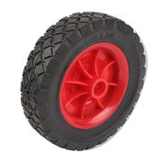 China Black Rubber Semi-pneumatic Truck Tire