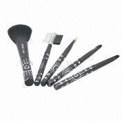 5-piece cosmetic brush set from China (mainland)