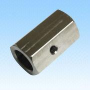 Middle Hexagon Machined Part, Made of Stainless Steel 304, OEM/ODM Orders Welcomed from HLC Metal Parts Ltd