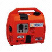 China Portable Gasoline Generator with Plastic Cover, Measures 500 x 330 x 430mm