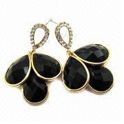 Diamond Earrings from China (mainland)