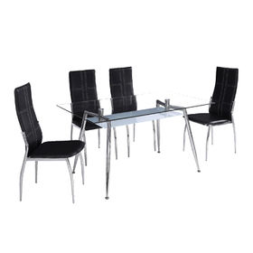 1 + 4 Glass Dining Set from China (mainland)