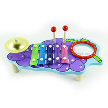 Wooden Toy Musical Instrument with Fashion Style/Wooden Music Instrument Box/Music Toy/Non-toxic