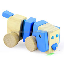 2013 New and Popular Design Wooden Push Dog