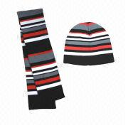 Knitted scarf and hat Manufacturer