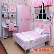 Pink Girls Bedroom Furniturekids Cartoon Bedteenage Dreamtd