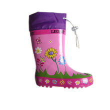 Children's Rubber Rain Boot from China (mainland)