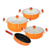 Ceramic Non-stick Coated Cookware Set from China (mainland)