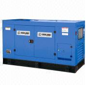 China 12kVA Diesel Generator with 2-cylinder, Water-cooled and Vertical 4-stroke Engine