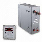 Steam Bath Generators with Digital Control Panel and Stainless Steel Water Tank, Aroma Pump,Vent Fan