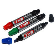 Double-headed and two-colored whiteboard marker from China (mainland)