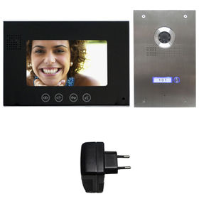 China 4-wire Direct Call Video Intercom System for House and Flats