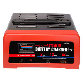 Portable 15A battery charger from China (mainland)