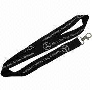 Polyester Lanyards with Printed Logos, Various Designs are Available