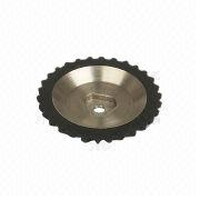 Injection rubber wheel from China (mainland)