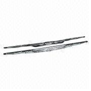 Car Wiper Blades, Many Sizes Available, Made of Stainless Sttel Backing