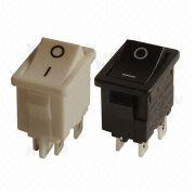 Double Pole Mini Rocker Switches from Taiwan