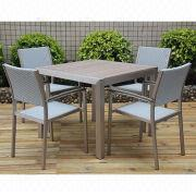 Plywood Outdoor Dining Set from China (mainland)