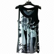 Ladies' Viscose Singlet from China (mainland)