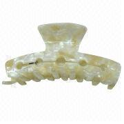 Celluloid Acetate Hair claw,Available from China (mainland)