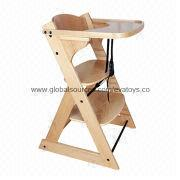 Wooden Baby High Chair Manufacturer
