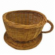 Willow Tea cup gift basket from China (mainland)