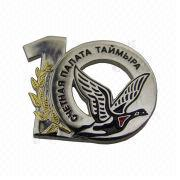 3-D Zinc-alloy Metal Badge and Emblem from China (mainland)