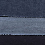 Knitted denim fabric from China (mainland)