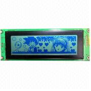 240 x 64 Dots Graphics LCM, Standard Size, White Backlight, 5.0V Voltage