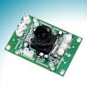 China Module/Board Camera with Modules MN-150C 32 x 32mm, Auto AGC, Internal Synchronization, CCD