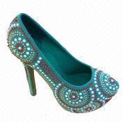 2013 New rhinestone women's high heel shoes from China (mainland)