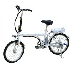 36V/20-inch Folding Electric Bicycle, 20 to 30km Range