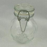 China Food Jar for Kitchen, Measures 7 x 8.8cm, with 125g Weight