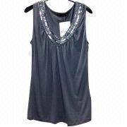 Women's knitted top from China (mainland)
