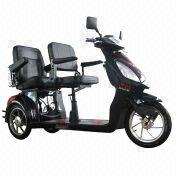 Double-seater three-wheel electric trike/scooter from China (mainland)