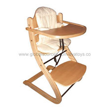2013 new and popular wooden baby high chair Manufacturer