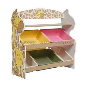2013 New Popular Design Wooden Toy Organizer Manufacturer