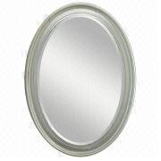 Wood Framed Oval Mirror from China (mainland)
