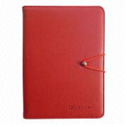 PU Leather Case for iPad Mini, Customized Colors and Textures are Available from Beijing Leter Stationery Manufacturing Co.Ltd