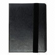 PU Leather Case for iPad, Customized Colors and Textures are Available from Beijing Leter Stationery Manufacturing Co.Ltd