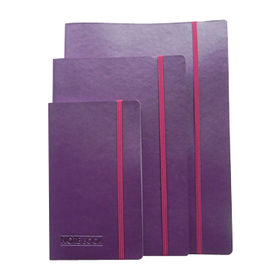 PU Leather Notebooks, Soft Cover with Elastic Band Closure from Beijing Leter Stationery Manufacturing Co.Ltd