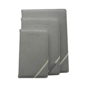 PU Leather Notebooks with Elastic Band Closure from Beijing Leter Stationery Manufacturing Co.Ltd