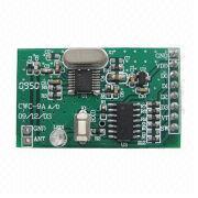 China Super-hetero-dyne, learning code receiver module, RF module