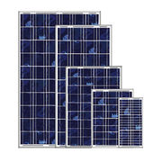 5 to 120W Poly-crystalline Solar Panel Modules from China (mainland)