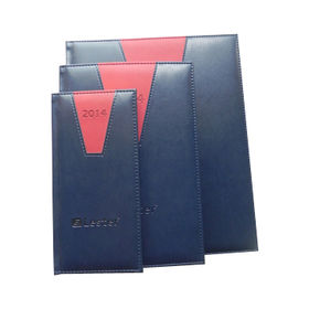 China Diaries with PU Leather Cover, Various Leather Colors are Available