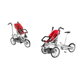 Mother and Babies' Stroller, 20-gear Freewheel