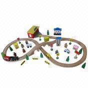 Wooden train toys from China (mainland)